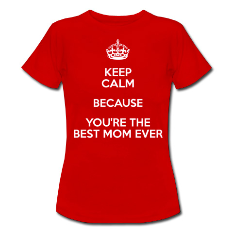 Keep Calm because the best mom