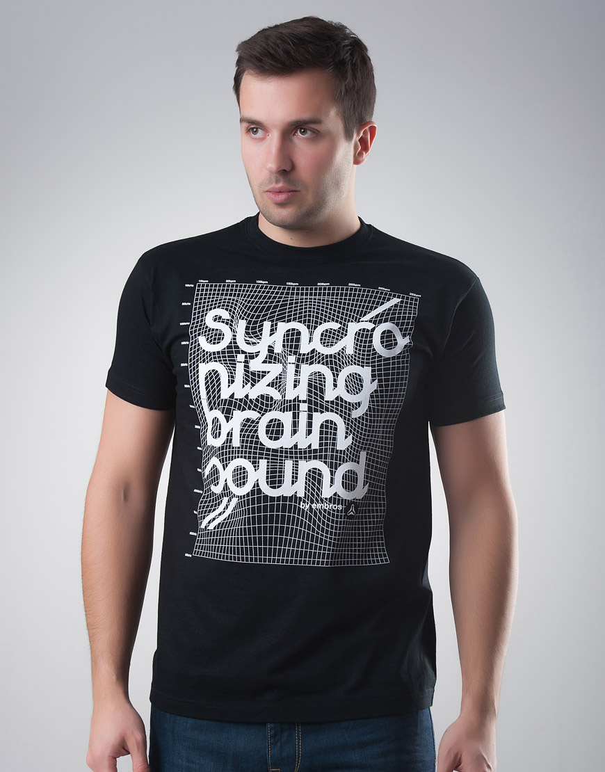 Syncronizing Brain Sound T-shirt