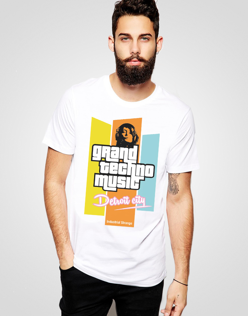 Grand Techno Music T-shirt
