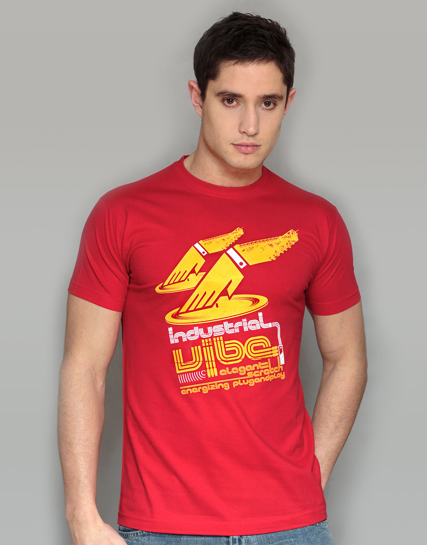 Industrial vibe Red T-shirt