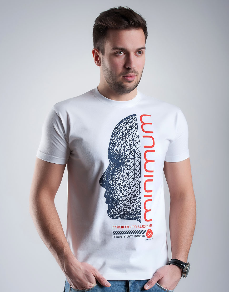 Minimum Words Maximum Beats T-shirt