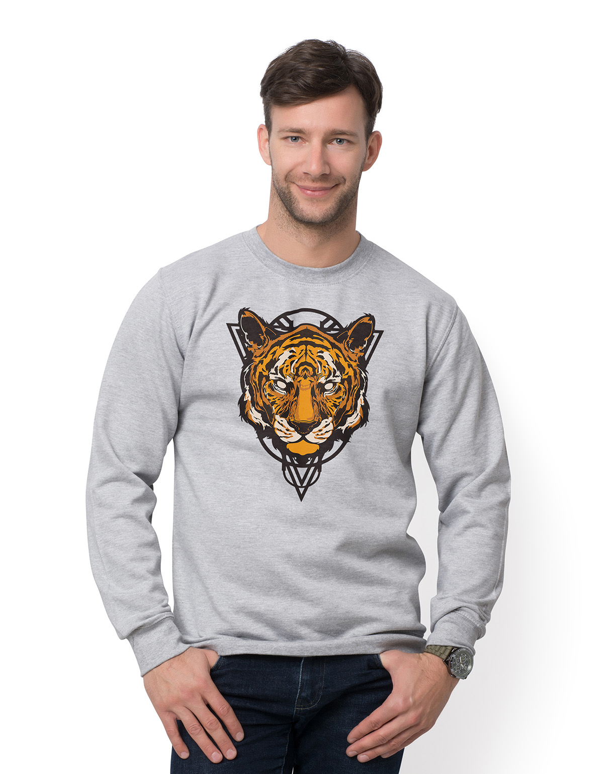 Bluza Tiger Grey