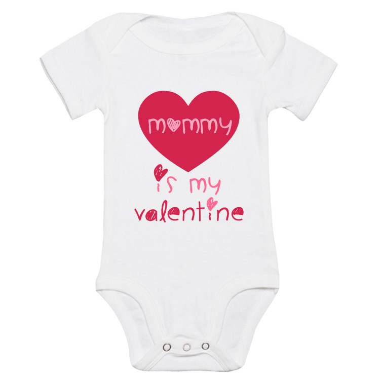 Body dziecięce Mommy is my Valentine