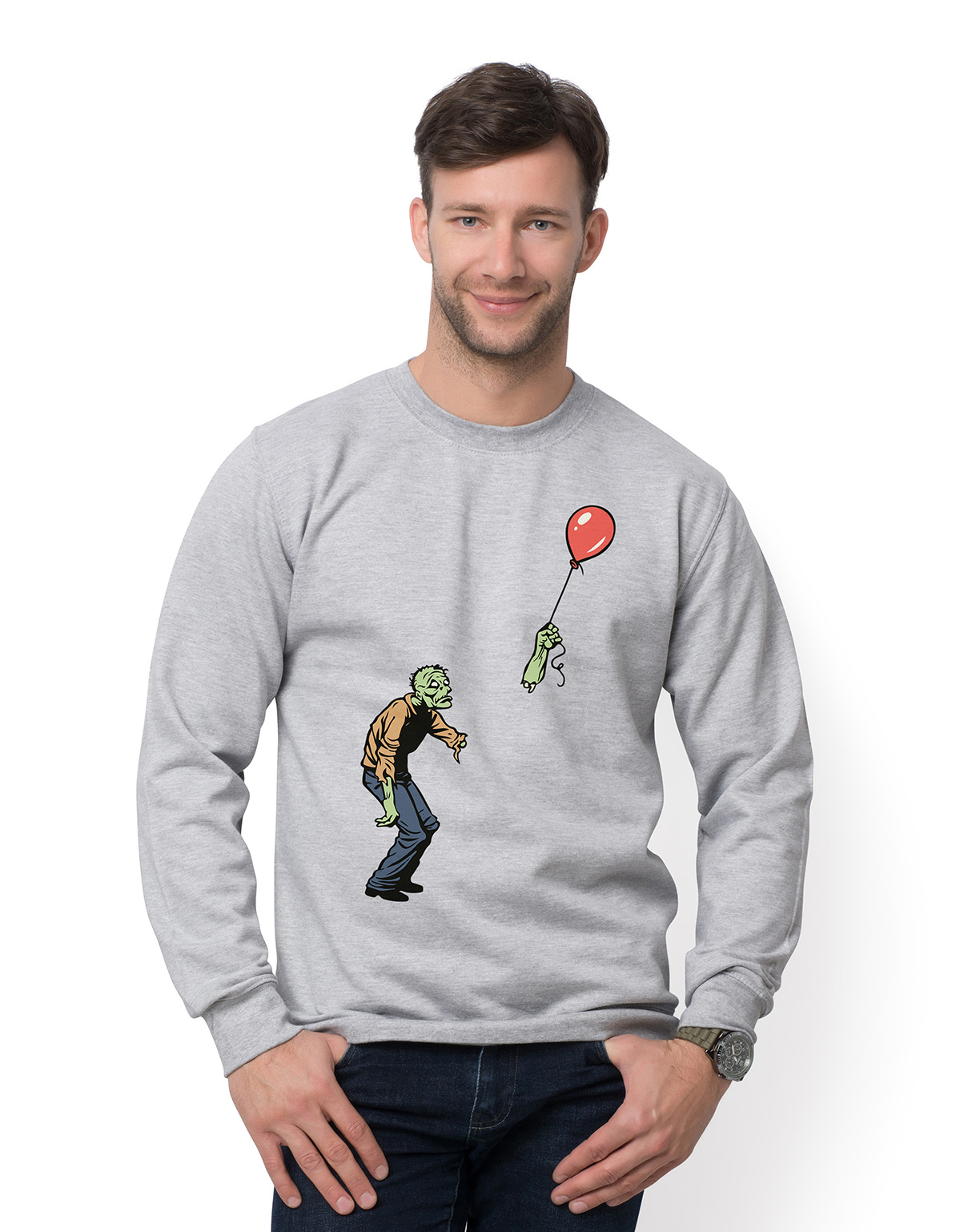 Bluza Zombie with baloon