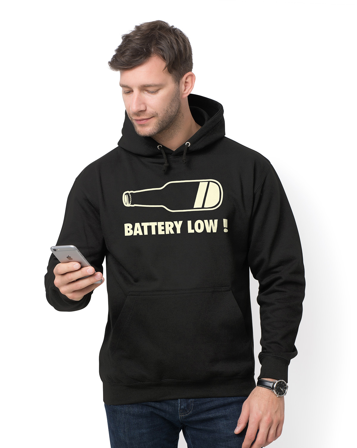 Bluza Battery low