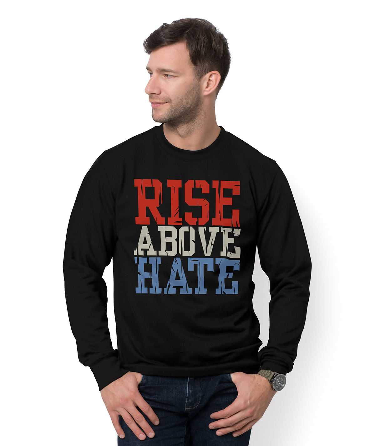 Bluza Rise above hate