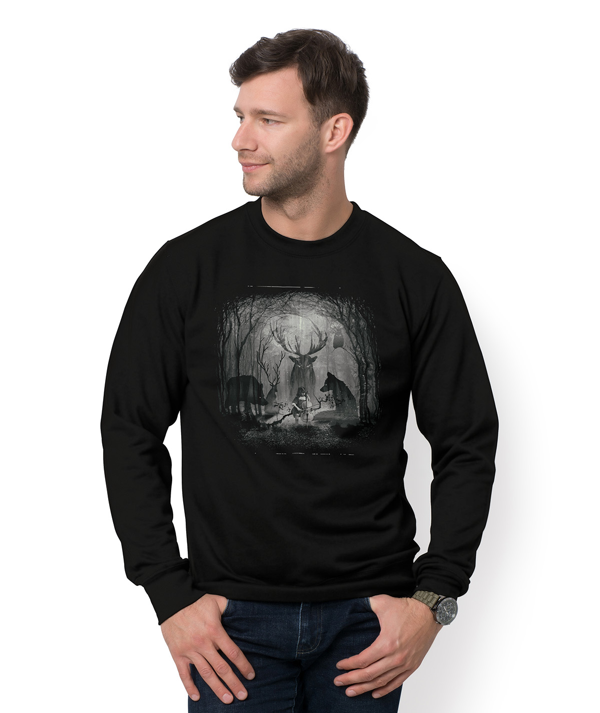 Bluza Mystery Forest Wolf