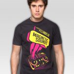 Koszulka Magnetic Sound Grey T-shirt