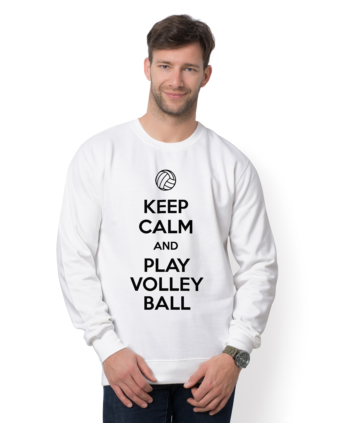 Bluza Keep Calm and Play Volleyball