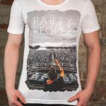 Koszulka Party People White T-Shirt