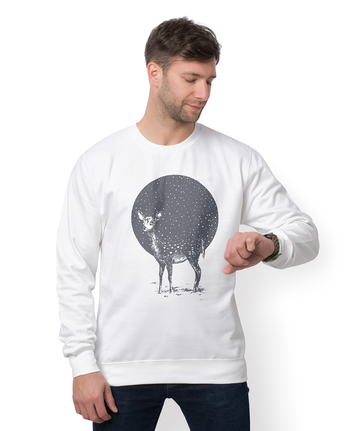 Bluza Space Deer