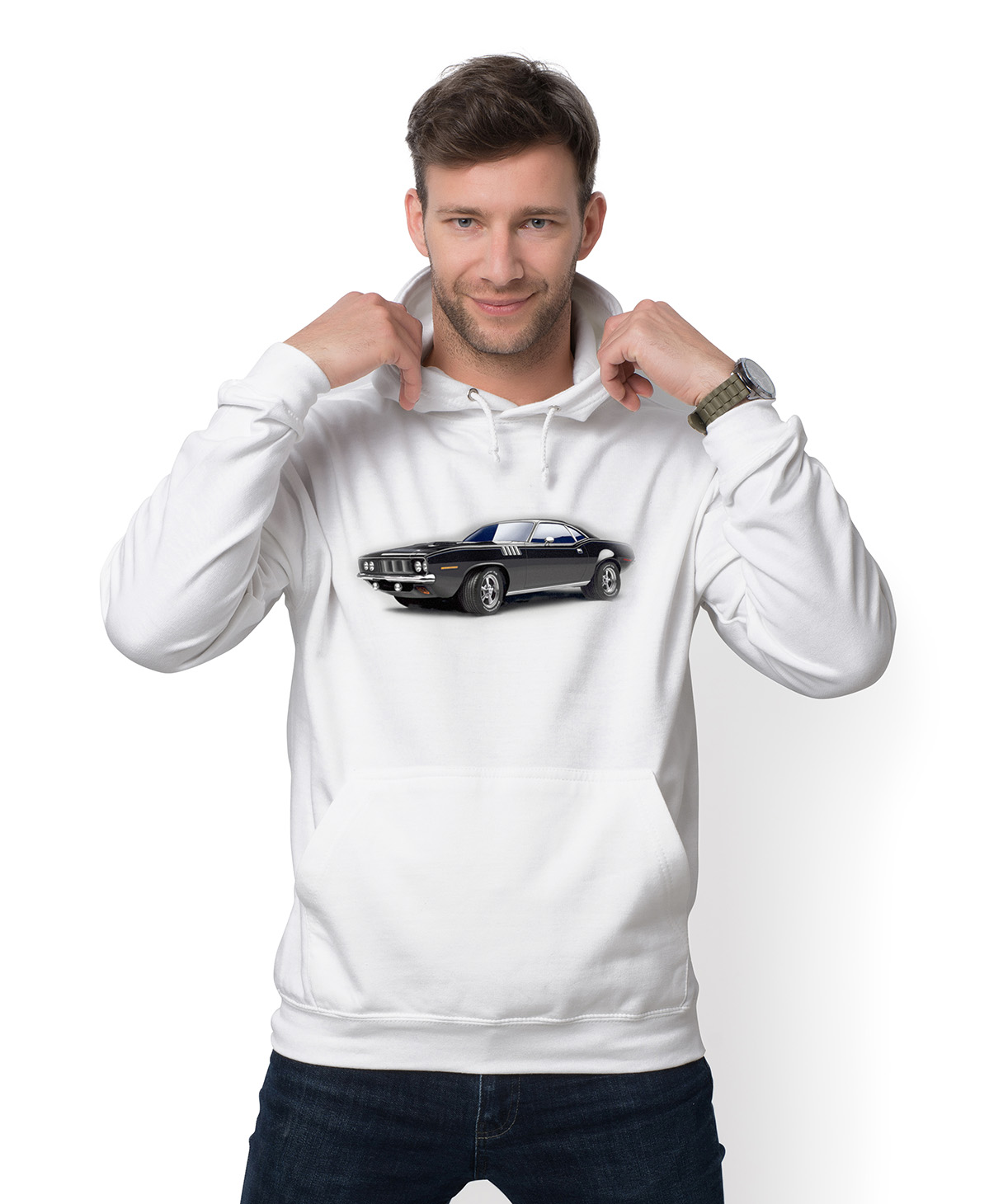 Bluza Muscle car