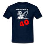 Koszulka Branie zaczyna się po 40