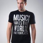 Koszulka Music Makes The World Black